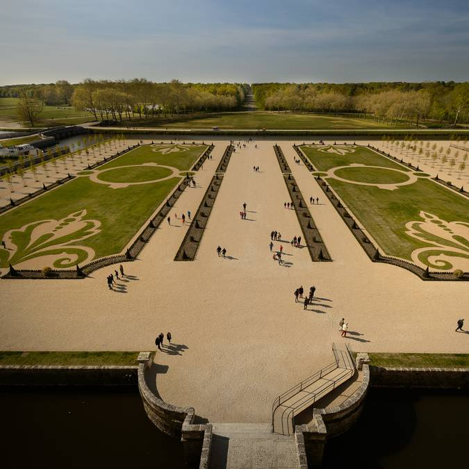 The gardens of Chambord