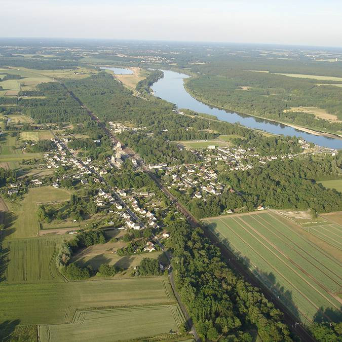 Loire Valley, village of Onzain
