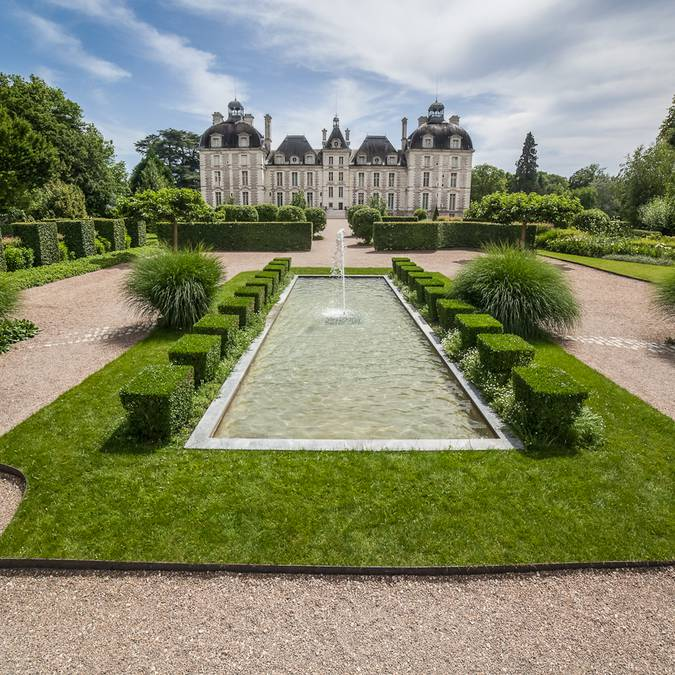 The gardens of Cheverny. © CJN Thierry