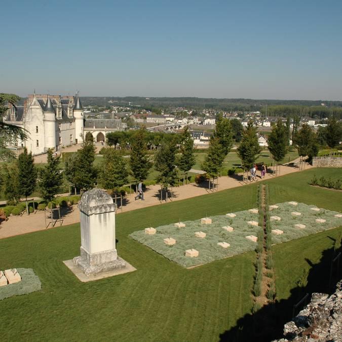 Mediterranean gardens at Amboise. © Blois Chambord Tourist Office