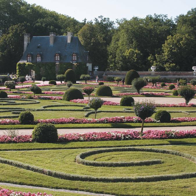 Garden of Diane de Poitiers at Chenonceau. © DR