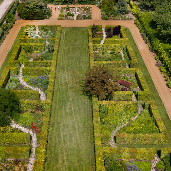 The gardens of Beauregard. © Blois Chambord Tourist Office