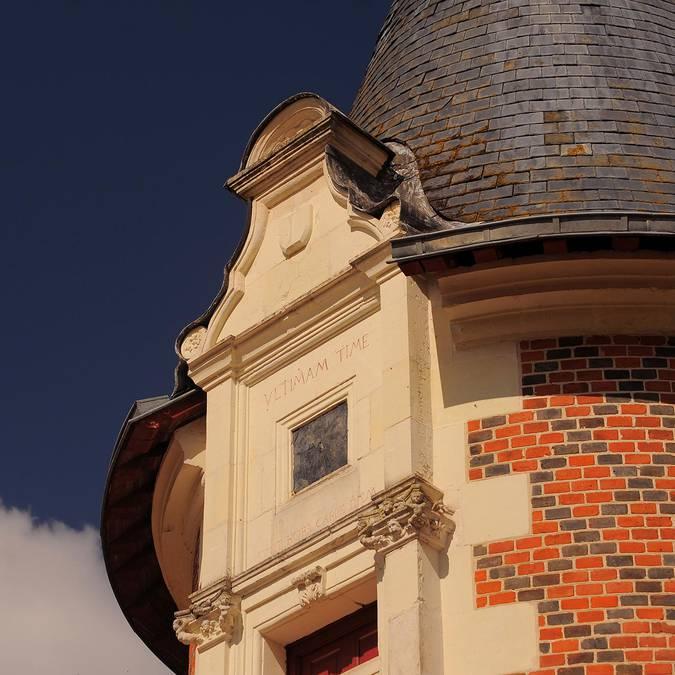 The Château de Troussay © L. de Serres