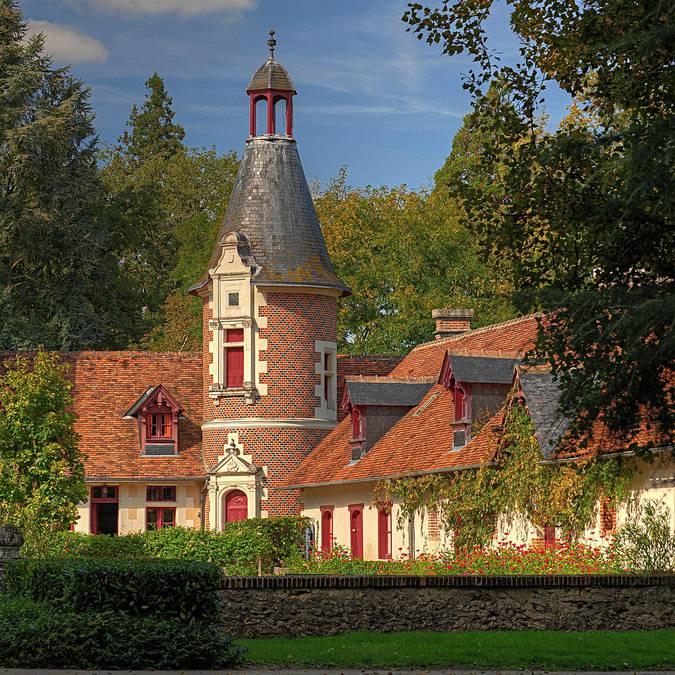 Château de Troussay  © L. de Serres