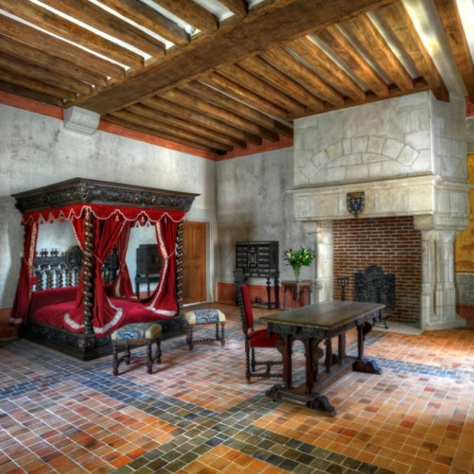 Leonardo da Vinci's Room. © Blois-Chambord Tourist Office