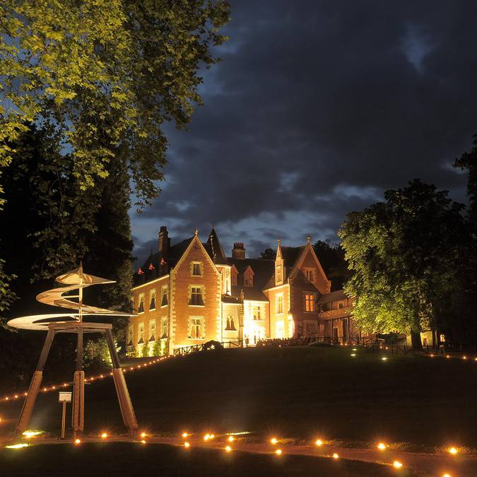 Clos Lucé by night. © Blois-Chambord Tourist Office