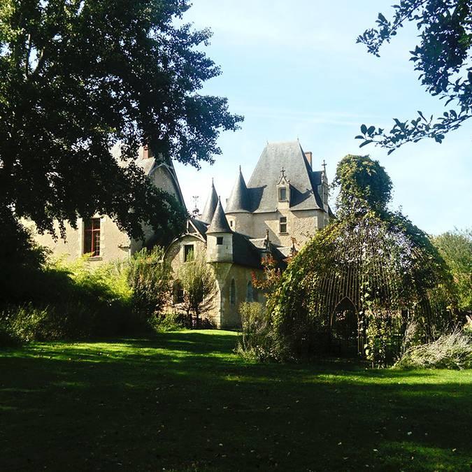 Château de Fougères-sur-Bièvre and its gardens © Blois-Chambord Tourist Office