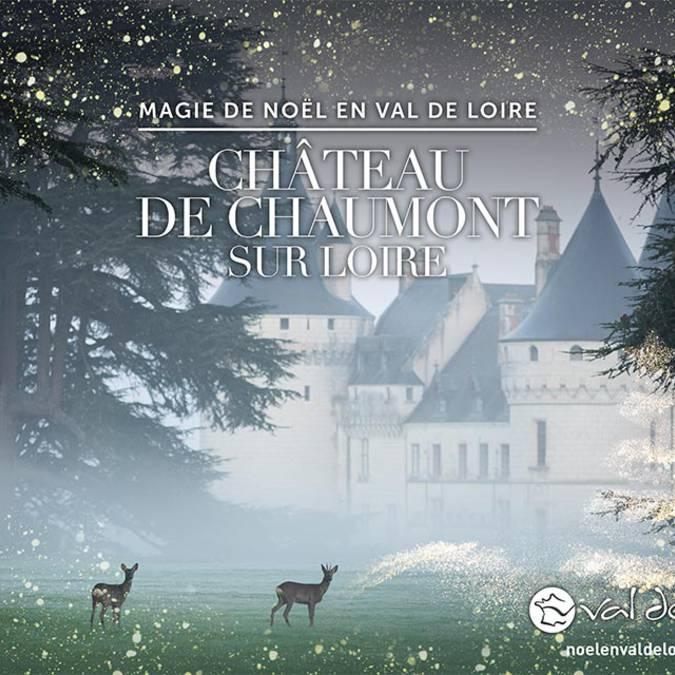 Christmas at the estate of Chaumont-sur-Loire