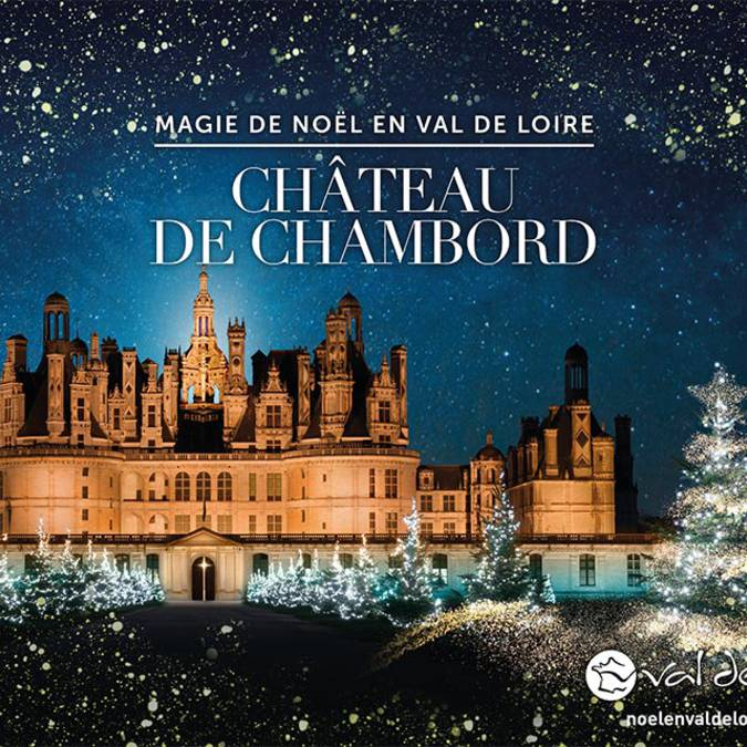 Christmas at the Domaine national de Chambord