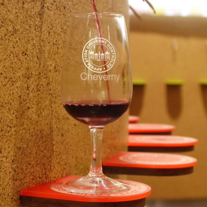 Tasting machines, Maison des Vins de Cheverny. © OTBC
